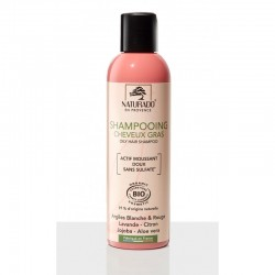 Shampoing Gras 200 ml Sans Sulfates Cosmos
